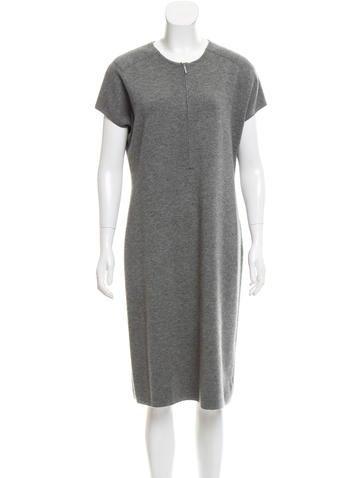 Akris Cashmere Knit Dress None