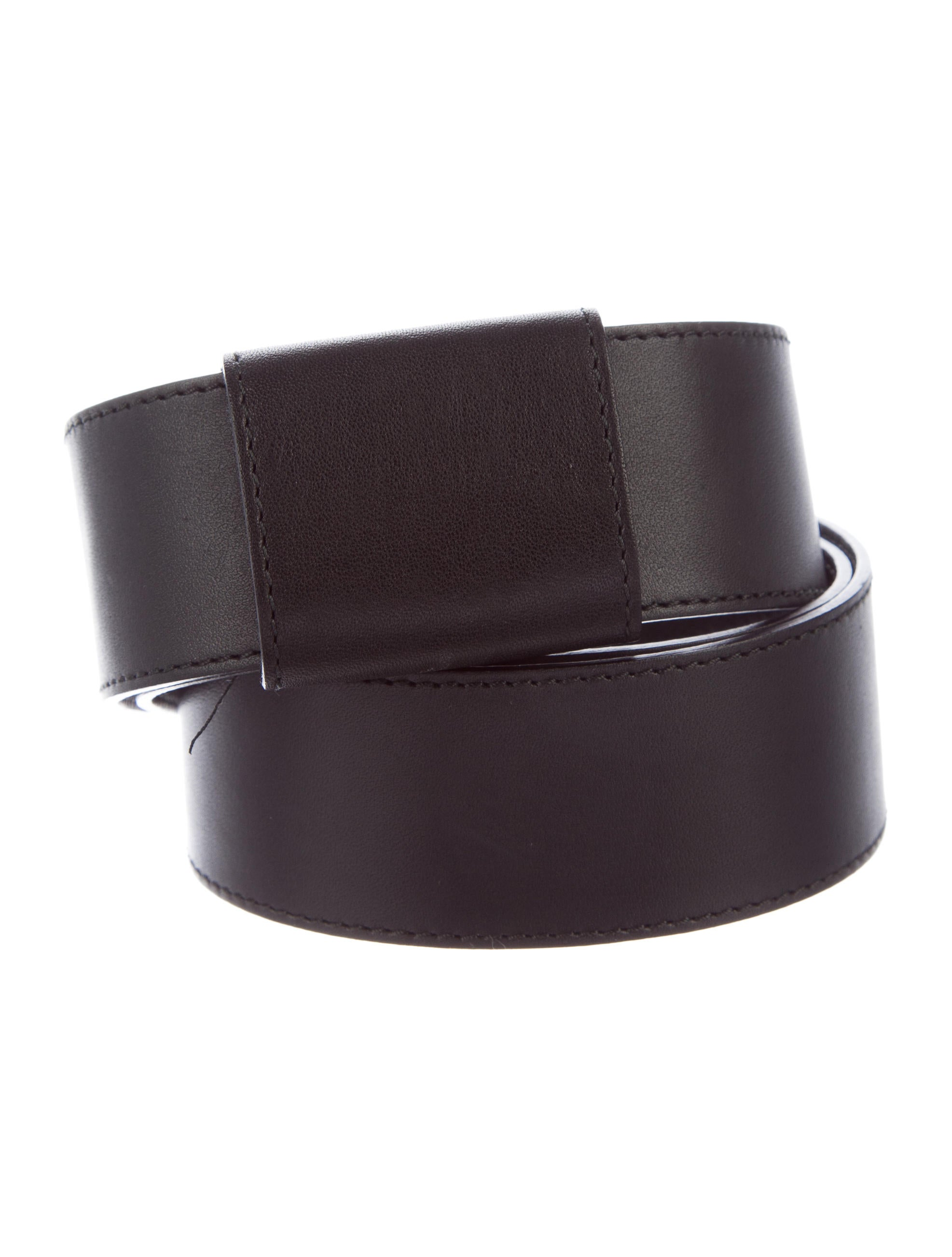 akris leather buckle belt accessories akr33019 the