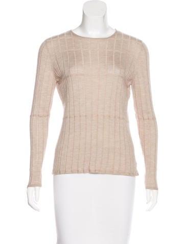 Akris Cashmere & Silk Crew Neck Sweater None
