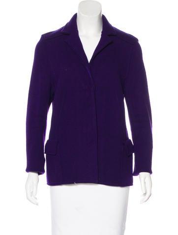 Akris Cashmere Three-Button Jacket None
