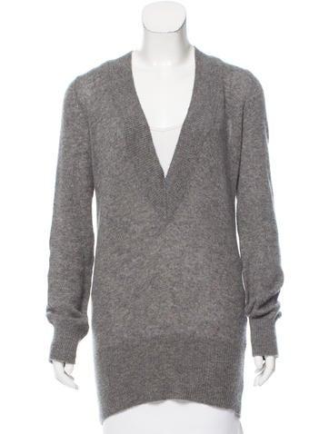 Akris Cashmere V-Neck Sweater None