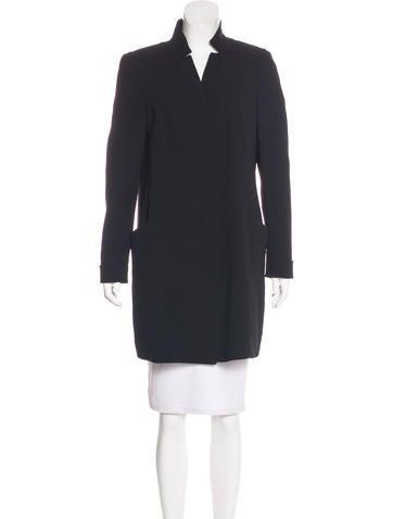 Akris Wool-Blend Lightweight Coat None