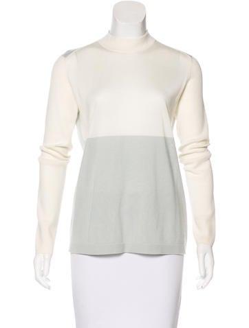 Akris Cashmere Colorblock Sweater None