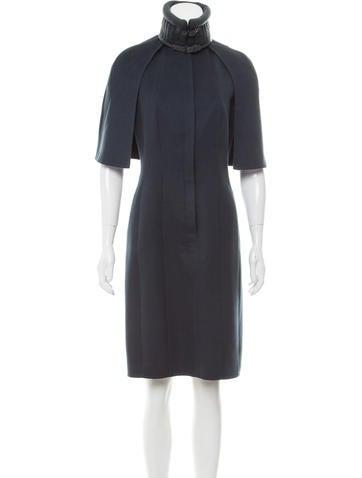 Akris Sleeveless Cashmere Dress None