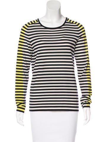 Akris Wool Striped Top None