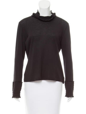 Akris Cashmere & Silk-Blend Top None