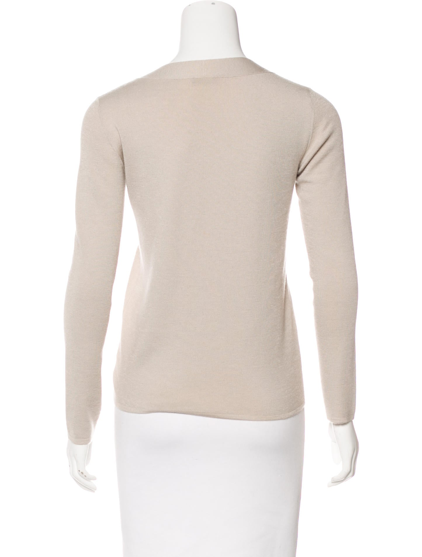 Akris Lightweight Cashmere Sweater - Clothing - AKR33872 | The ...