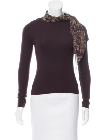 Akris Lightweight Cashmere Sweater - Clothing - AKR33898 | The ...