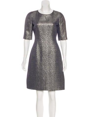 Akris Silk-Blend Dress w/ Tags None
