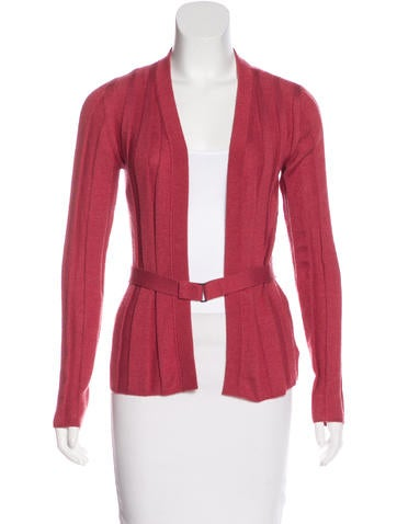 Akris Cashmere & Silk-Blend Cardigan None