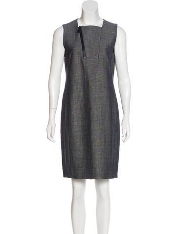 Akris Wool-Blend Dress None