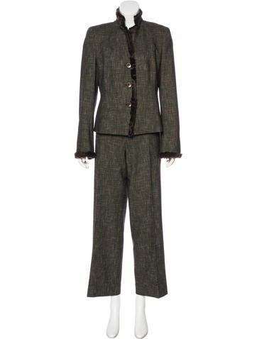 Akris Knit High-Rise Pantsuit None