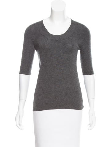 Akris Cashmere & Silk-Blend Sweater None