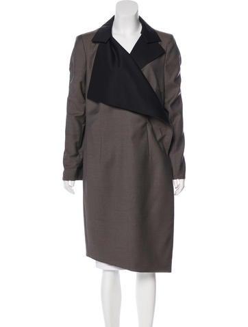 Akris Wool Long Coat None