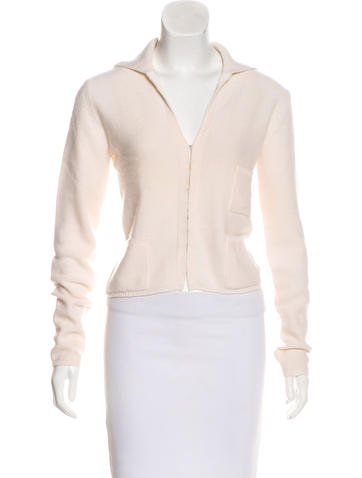 Akris Cashmere Knit Cardigan None
