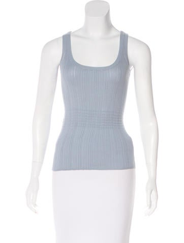 Akris Knit Sleeveless Top None