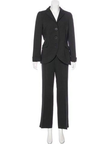 Akris Wool High-Rise Pantsuit None