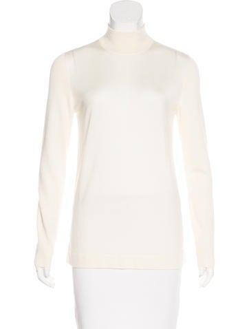Akris Cashmere & Silk-Blend Sweater None