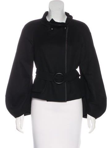 Akris Belted Cashmere Jacket None