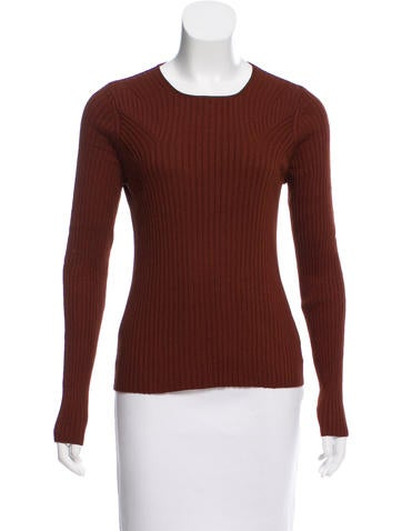 Akris Long Sleeve Silk Sweater None