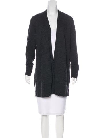 Akris Cashmere Elongated Cardigan None
