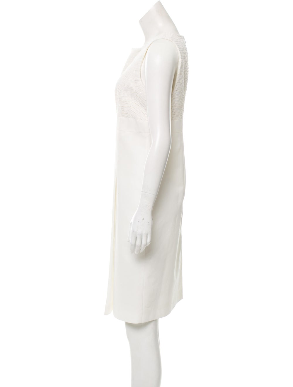 Akris Sleeveless Eyelet Dress - image 2