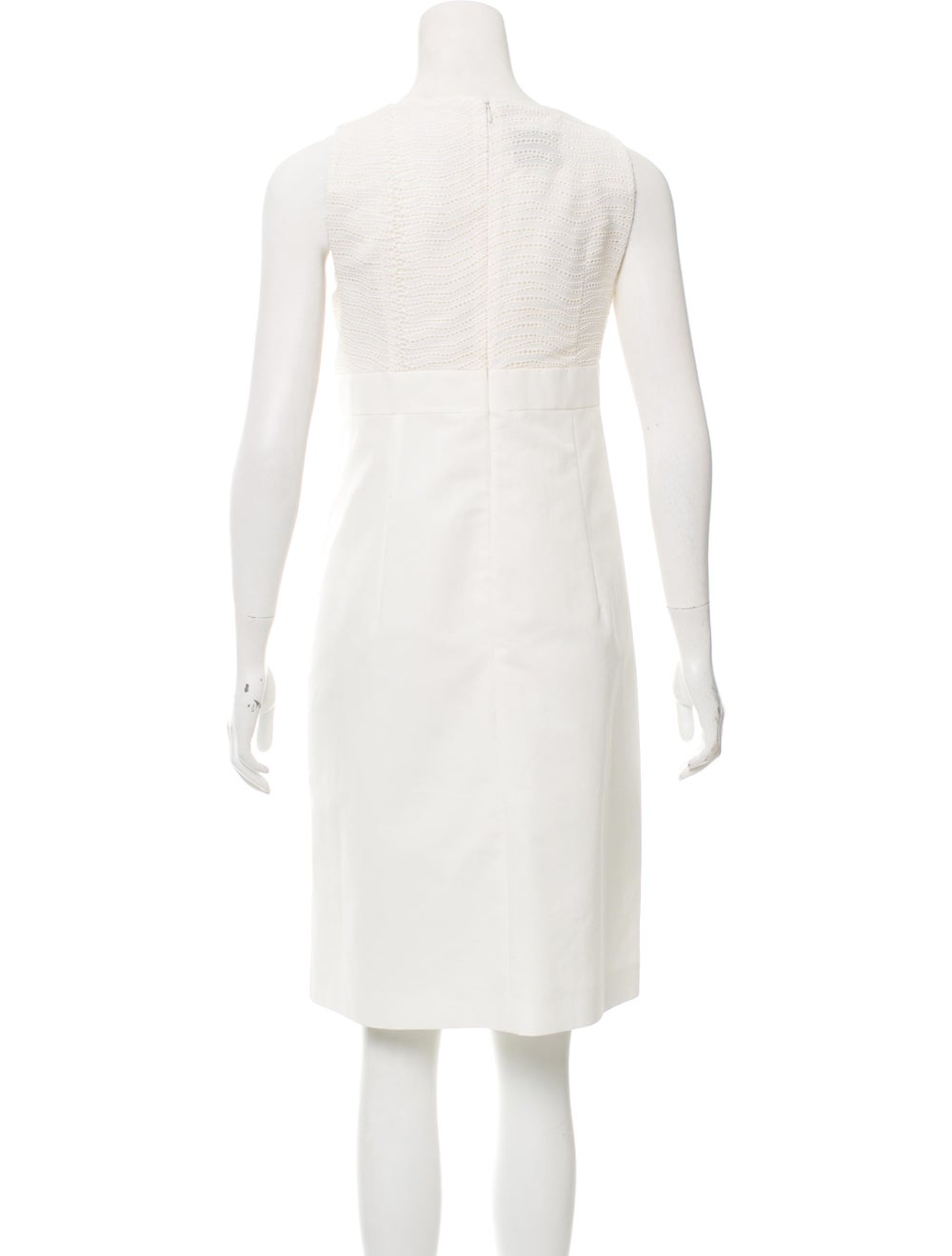 Akris Sleeveless Eyelet Dress - image 3