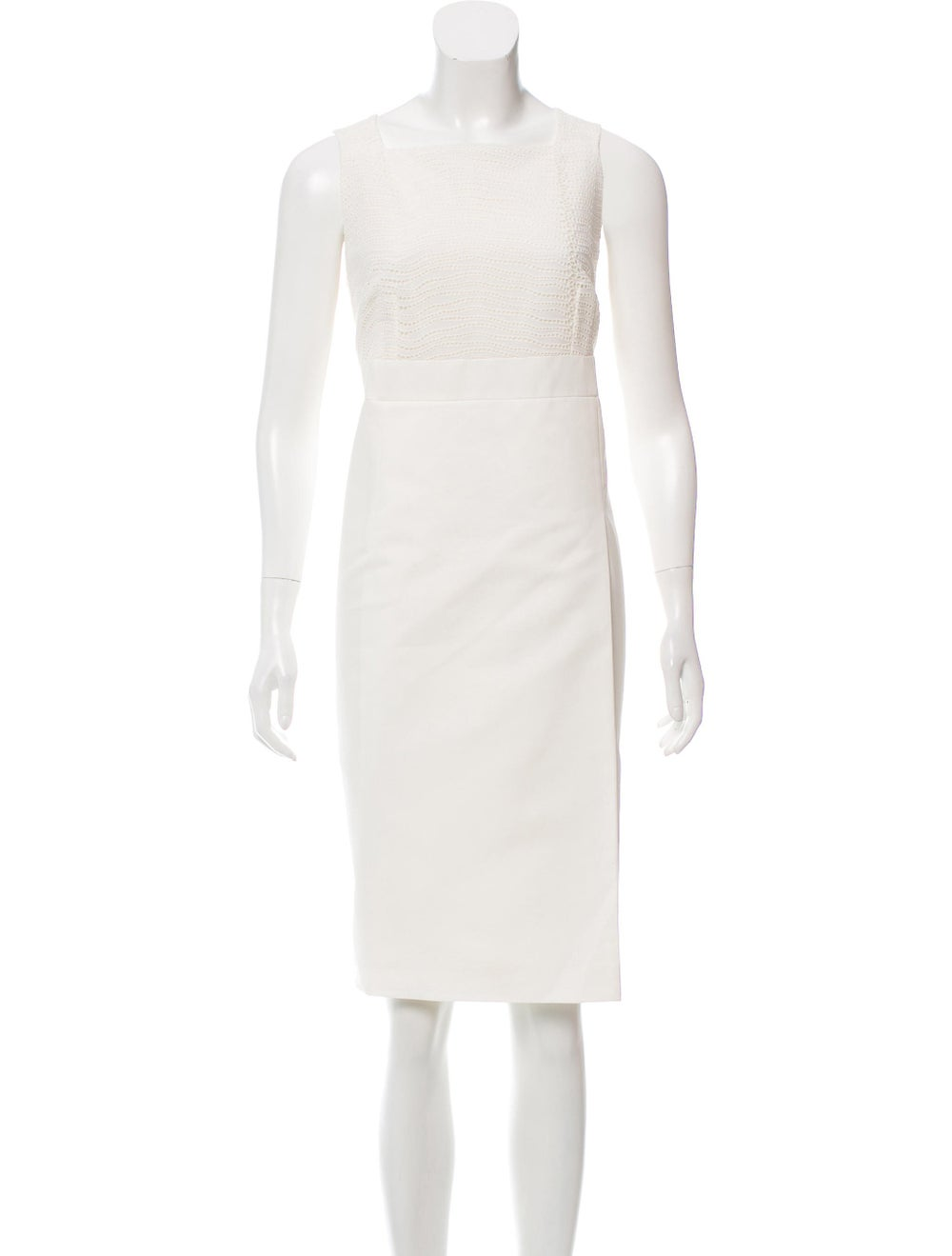 Akris Sleeveless Eyelet Dress - image 4