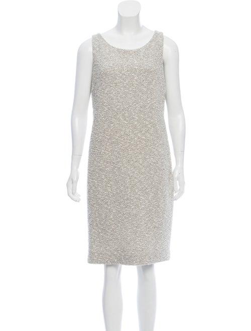 Akris Textured Knit Sleeveless Dress
