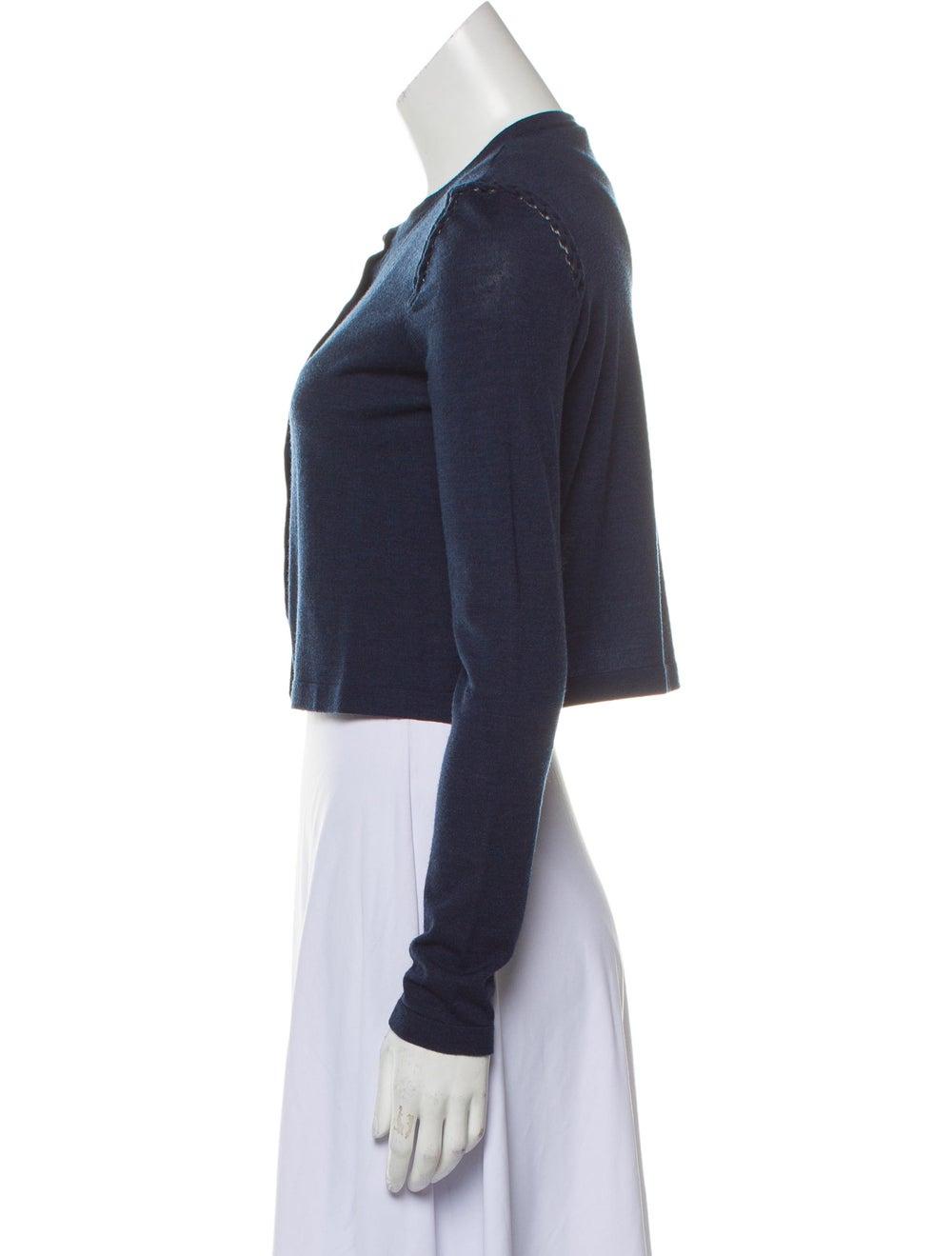 Akris Wool Cropped Cardigan - image 2