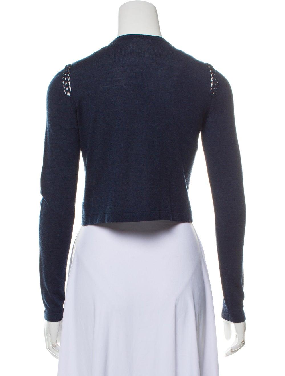 Akris Wool Cropped Cardigan - image 3