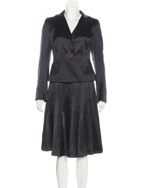 Akris Silk Skirt Suit