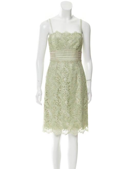 Akris Lace Knee-Length Dress