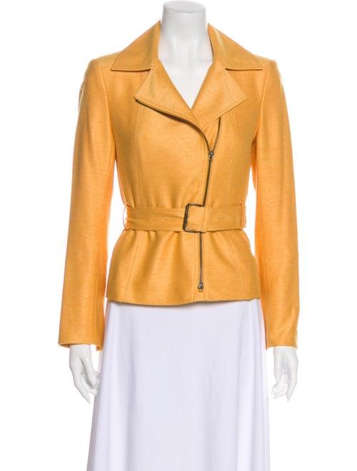 Akris Silk Jacket Yellow