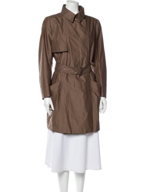 Akris Trench Coat Brown