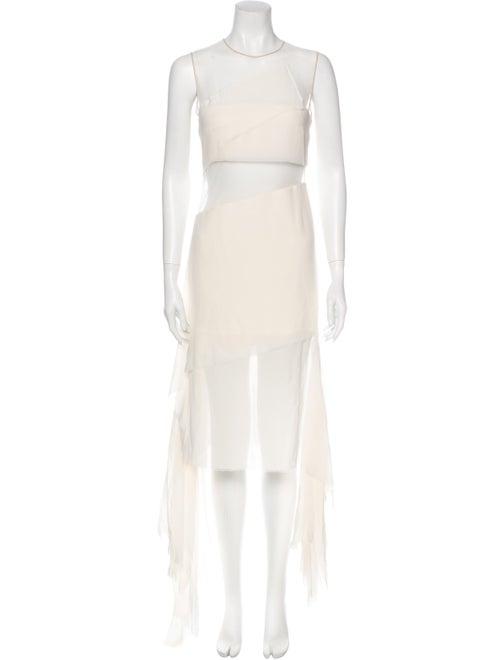 Akris Silk Long Dress