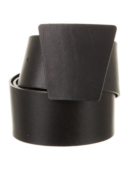Akris Leather Hip Belt Black - image 1