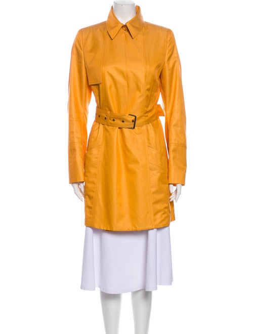 Akris Trench Coat Yellow
