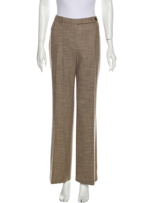 Akris Wool Wide Leg Pants Wool