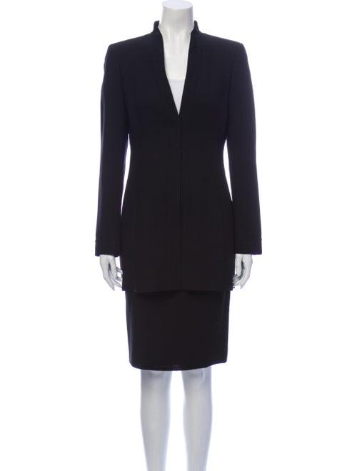 Akris Skirt Suit Black