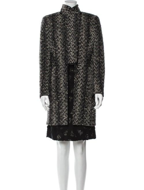 Akris Wool Printed Skirt Set Wool
