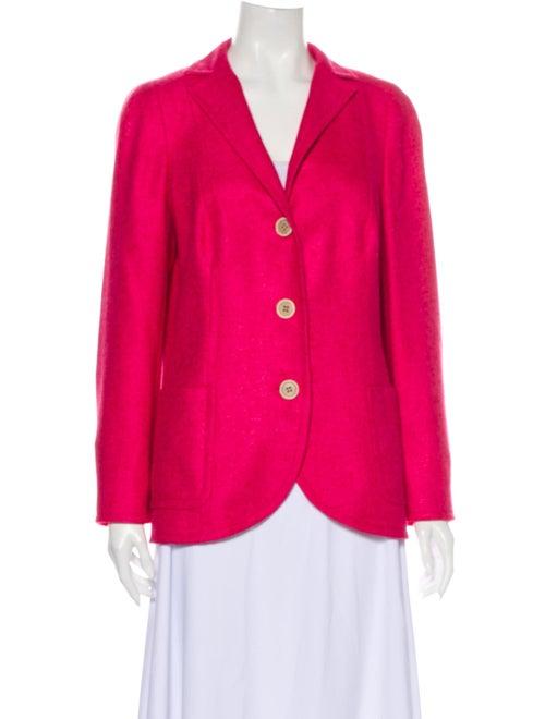 Akris Silk Blazer Pink