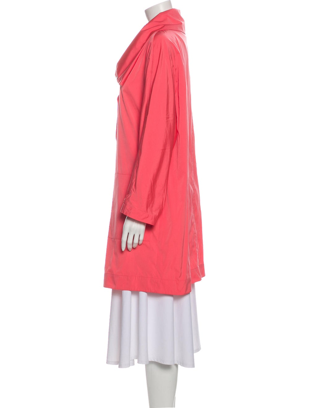 Akris Trench Coat Pink - image 2