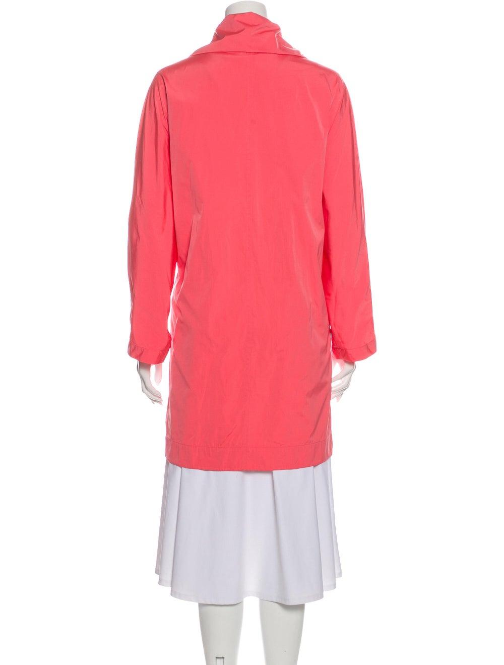 Akris Trench Coat Pink - image 3