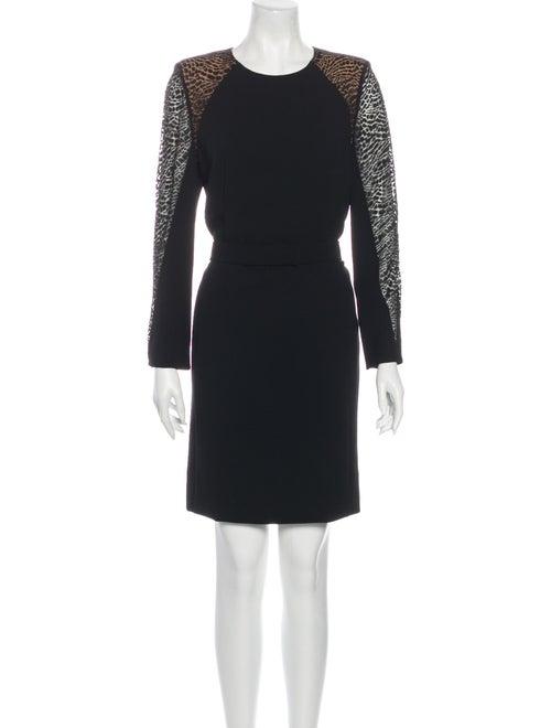 Akris Wool Mini Dress Wool