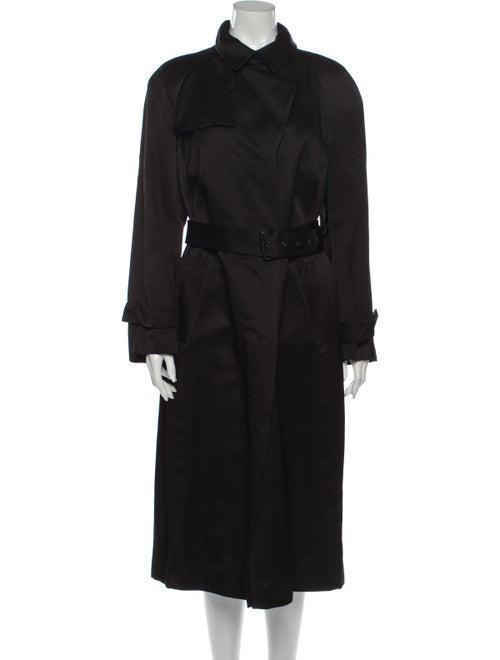 Akris Trench Coat Black