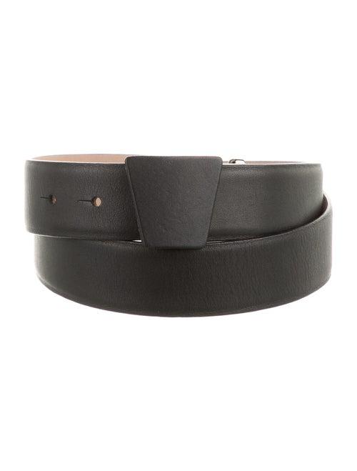 Akris Leather Belt Black