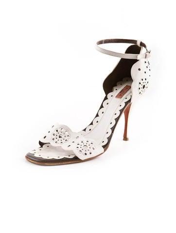 Leather Cutout Sandal