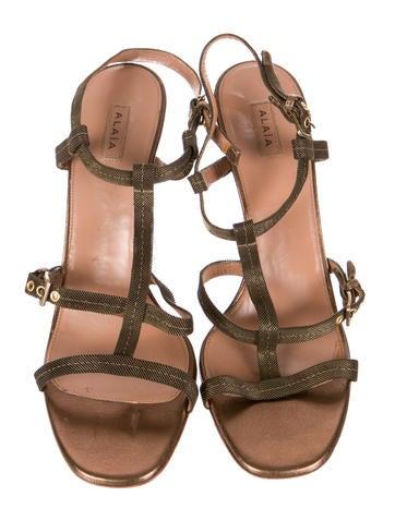 Chain Mesh Sandals