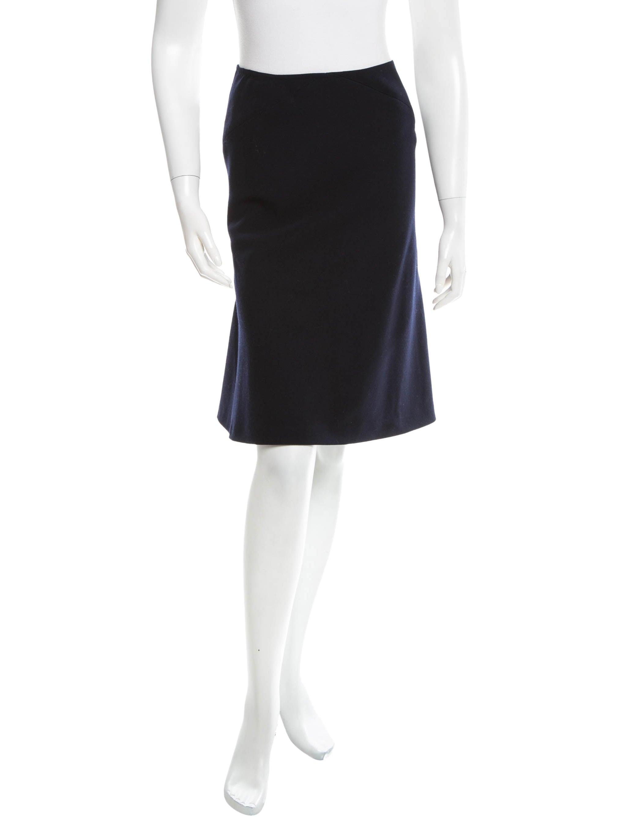 ala 239 a a line wool skirt clothing al224361 the realreal